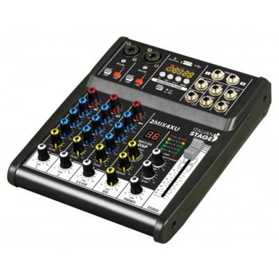 Italian Stage 2MIX4XU Mixer USB Bluetooth