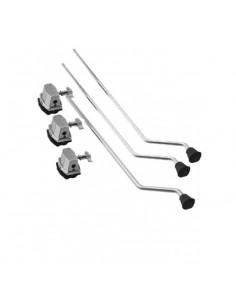 Dixon PDFS-3-HP Set 3 gambe per timpano con attacchi