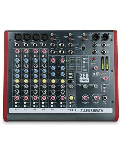Allen&Heat ZED10 FX Mixer USB 10 ingressi con effetti