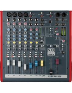 Allen&Heat ZED60 10FX Mixer USB 10 ingressi con effetti