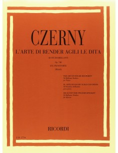 Czerny Carl - Arte di rendere agili le dita