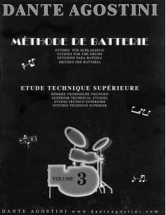 Dante Agostini Metodo per batteria vol.3