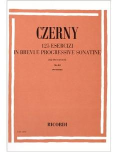 Czerny - 125 Esercizi in Brevi e Progressive Sonate