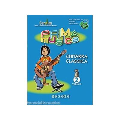 Prima Musica Chitarra Classica vol.2