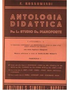 Rossomandi - Antologia Didattica Cat.A Fasc. I