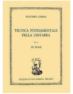 Ruggiero Chiesa Tecnica Fondamentale della chitarra Vol.1 Le Scale