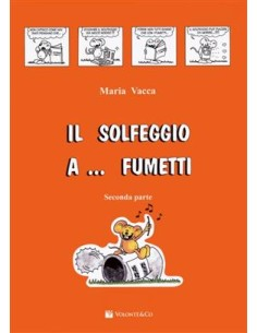 Vacca Maria - Solfeggio A Fumetti Vol. 2