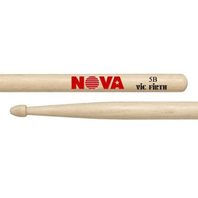 Vic Firth Nova 5B bacchette in acero made in USA