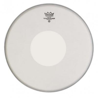 Remo CS-0114-00 Controlled Sound White Dot Coated pelle battente sabbiata da 14