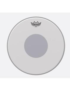 Remo CS-0114-10 Controlled Sound Black Dot Coated pelle battente sabbiata da 14