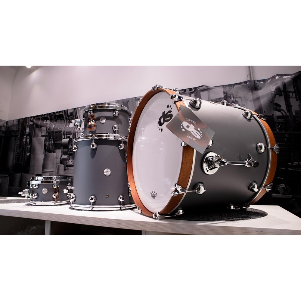 DS Drum Rebel Custom Shop All Maple Cool Grey SS finish