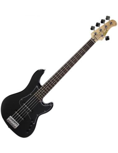 CORT GB35JJ BK Bass Elettrico 5 Corde