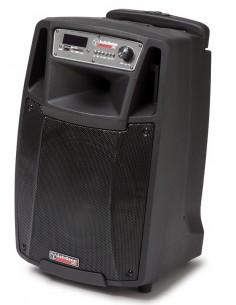 Audiodesign M2 10W/L CASSA AMPLIFICATA DIFFUSORE ATTIVO 10' A BATTERIA CON MICROFONI WIRELESS