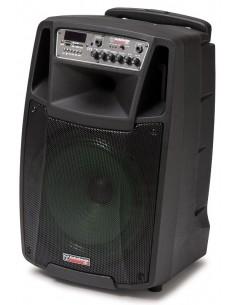 Audiodesign M2 12W/L CASSA AMPLIFICATA DIFFUSORE ATTIVO 12' A BATTERIA CON MICROFONI WIRELESS