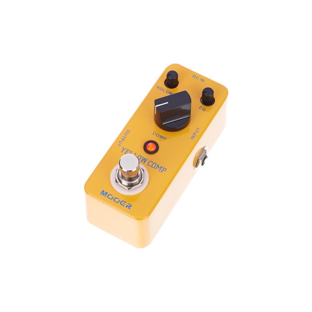 MOOER YELLOW COMP pedale Compressore Ottico
