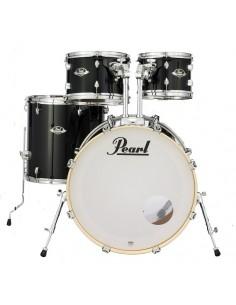 Pearl EXX725 C31 Export Jet Black Shell Kit 22-10-12-16
