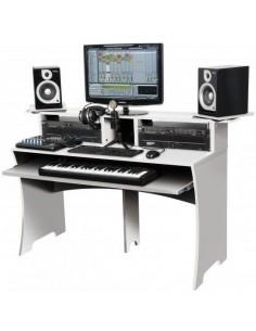 Glorius Workbench White Workstation per Home Recording e Studio Bianca