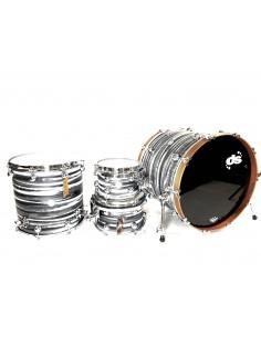 DS Drum Rebel All Maple Urban Grey White over Black 22-10-12-16 OFFERTISSIMA FINO AD ESAURIMENTO!!!!