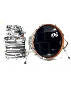 DS Drum Rebel All Maple Urban Grey White over Black 20-10-14 OFFERTISSIMA FINO AD ESAURIMENTO!!!!