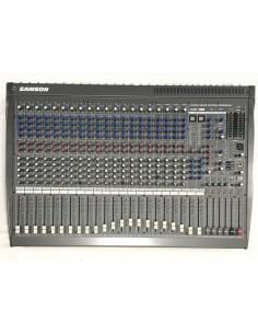 Samson L2400 mixer 24 canali doppio effetto e scheda USB Usato