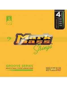 Markbass MB4GVNP40100LS electric bass nickel plated steel - 040 060 080 100