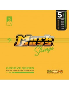 Markbass MB5GVNP40120LS electric bass nickel plated steel - 040 060 080 100 120