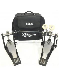 Yamaha DFP9500C doppio pedale a catena con custodia Usato