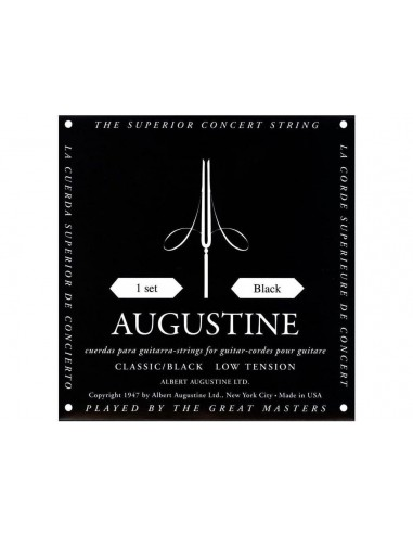 Augustine Classic Black Muta classica Low Tension