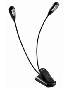 Quiklok MS22 Lampada da leggio 4 led 2 bracci