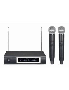 TECHNOSOUND TLXP2 DOPPIO RADIOMICROFONO PALMARE VHF