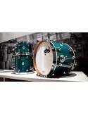 DS Drum Rebel Bop Set All Maple Aqua Double Lacquer 18-12-14