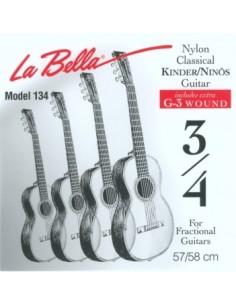 La Bella FG134 Muta Chitarra Classic 3/4