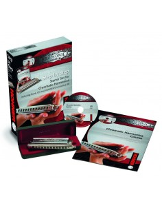 HOHNER STEP BY STEP / CHROMONICA STARTE PACKAGE ENGLISH