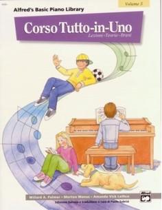 Alfred's Basic Piano Corso tutto in uno - Volume 5