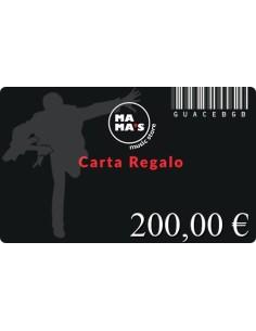 Carta Regalo Mama's-200
