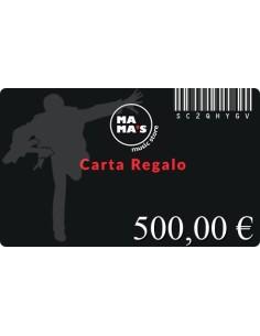 Carta Regalo Mama's-500