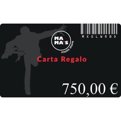 Carta Regalo Mama's-750