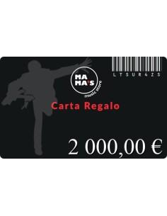 Carta Regalo Mama's-2000