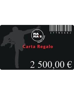 Carta Regalo Mama's-2500