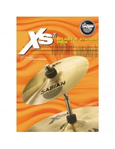 Sabian XS20 Splash 10 con Tilt Stacker - XS1005SPB