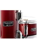 Mapex TND5044TCDR Tornado Set 5 Pezzi Burgundy Red