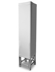 Beamz LTS10W Truss cover white 100cm