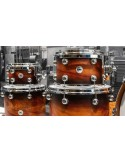 DS Drum Rebel Exotic Black Burst over Flame Padauk SS Limited Edition