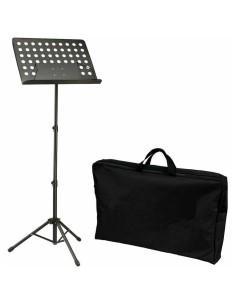 BESPECO BAS100 Leggio Musicale da Orchestra Tavola Forata Removibile con Borsa