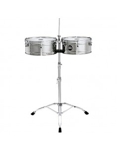 Meinl LC1STS Timbales Luis Conte in acciaio inox 14+15