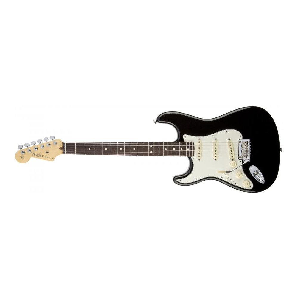 Fender American Standard Stratocaster Left Handed Black RW Mancina
