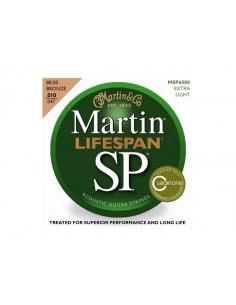 Martin MSP6000 Lifespan muta per chitarra acustica 10-47