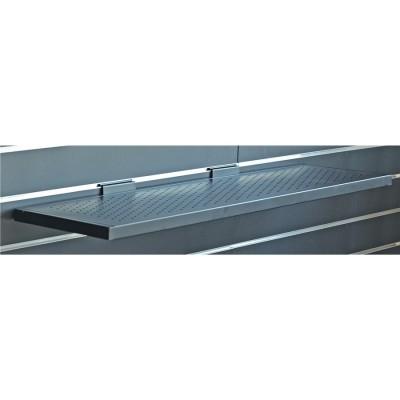 SBS/649L mensola lunga traforata per pannelli espositori Slatwall