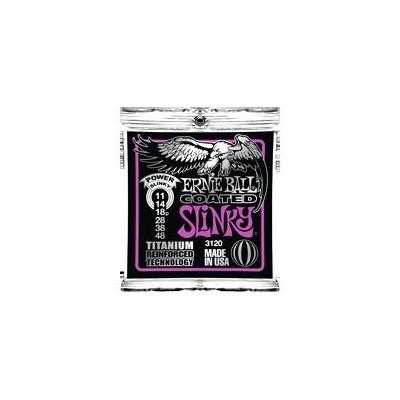 Ernie Ball 3120 - Coated Power Slinky 11-48