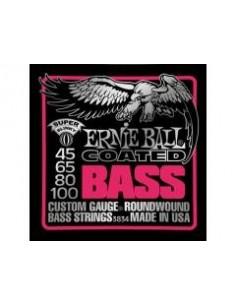 Ernie Ball 3834 - Coated Slinky Bass 45-100